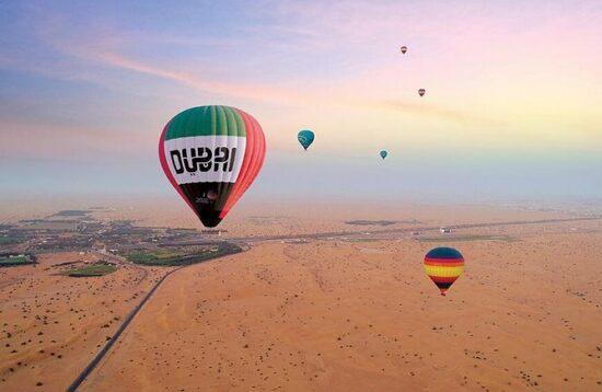 Montgolfière Dubaï